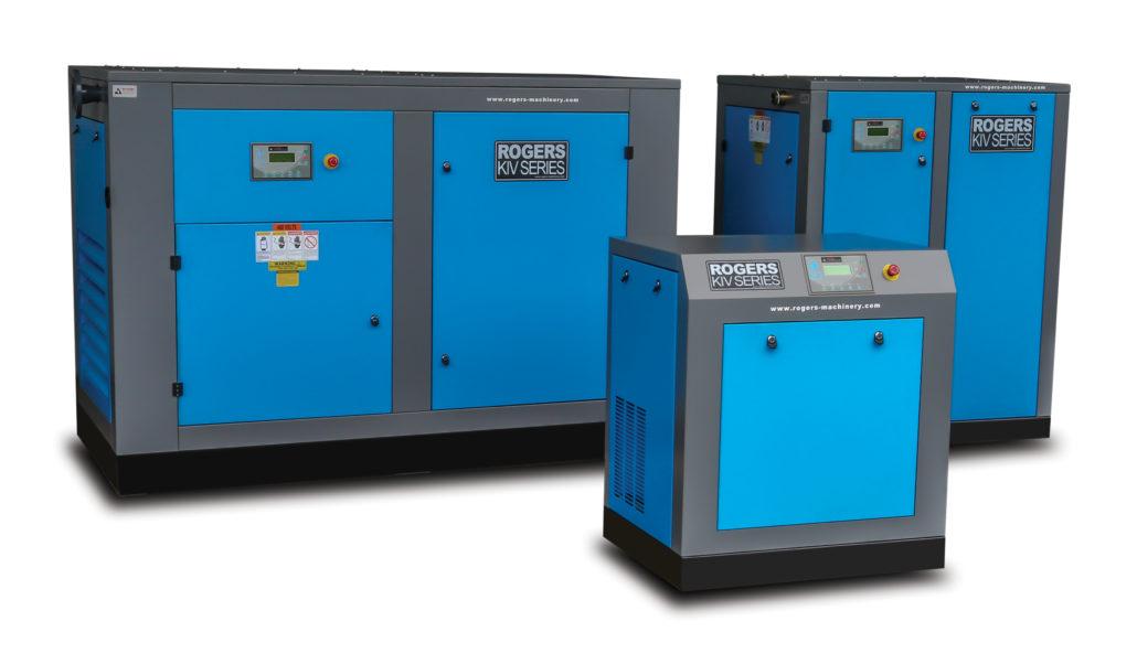 Industrial KI/KIV Series air compressors