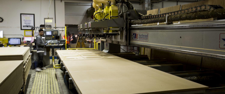 CNC Machine at Woodcraft