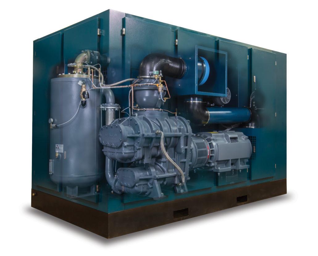 KR2 Series Compressor cutaway