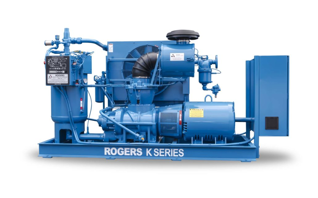 Rogers K Series rotary screw air compressor